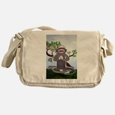 Funny Meditation Messenger Bag