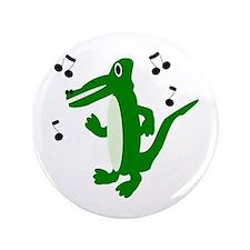 "Rocking Crocodile 3.5"" Button"