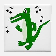 Rocking Crocodile Tile Coaster