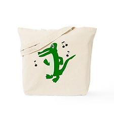 Rocking Crocodile Tote Bag
