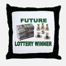 WINNER Throw Pillow