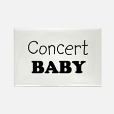 Concert baby Rectangle Magnet