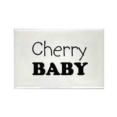 Cherry baby Rectangle Magnet