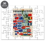 United Nations Fight For Free Puzzle