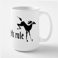 horse girls rule Mug