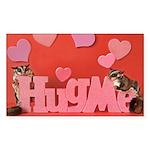 Valentine's Day #7 Sticker (Rectangle)