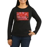 Valentine's Day #7 Women's Long Sleeve Dark T-Shir