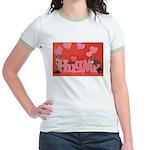 Valentine's Day #7 Jr. Ringer T-Shirt
