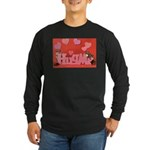 Valentine's Day #7 Long Sleeve Dark T-Shirt