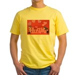 Valentine's Day #7 Yellow T-Shirt
