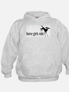 horse girls rule Hoodie