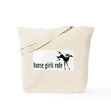horse girls rule Tote Bag
