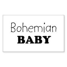 Bohemian baby Rectangle Decal