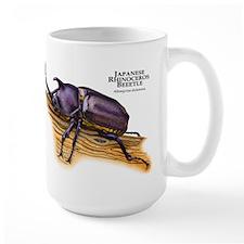 Japanese Rhinoceros Beetle Mug