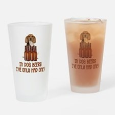 Dog Beers - Drinking Glass