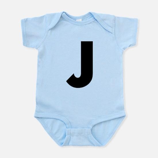 Letter J Infant Bodysuit