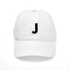 Letter J Baseball Cap