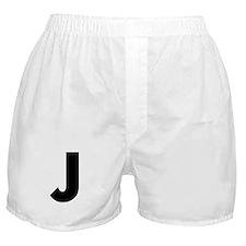 Letter J Boxer Shorts