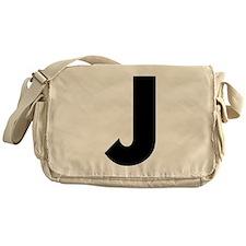 Letter J Messenger Bag