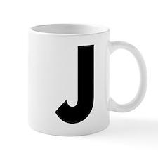 Letter J Small Mug
