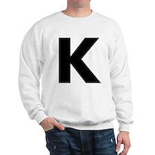 Letter K Sweatshirt