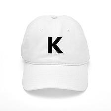 Letter K Baseball Cap