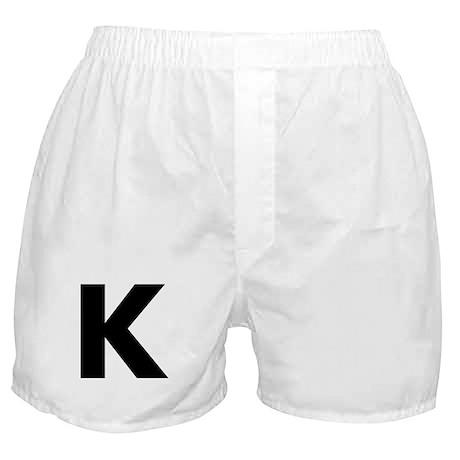 Letter K Boxer Shorts