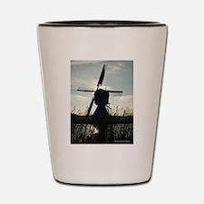 Dutch Windmill Shot Glass