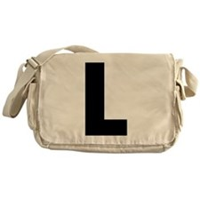 Letter L Messenger Bag