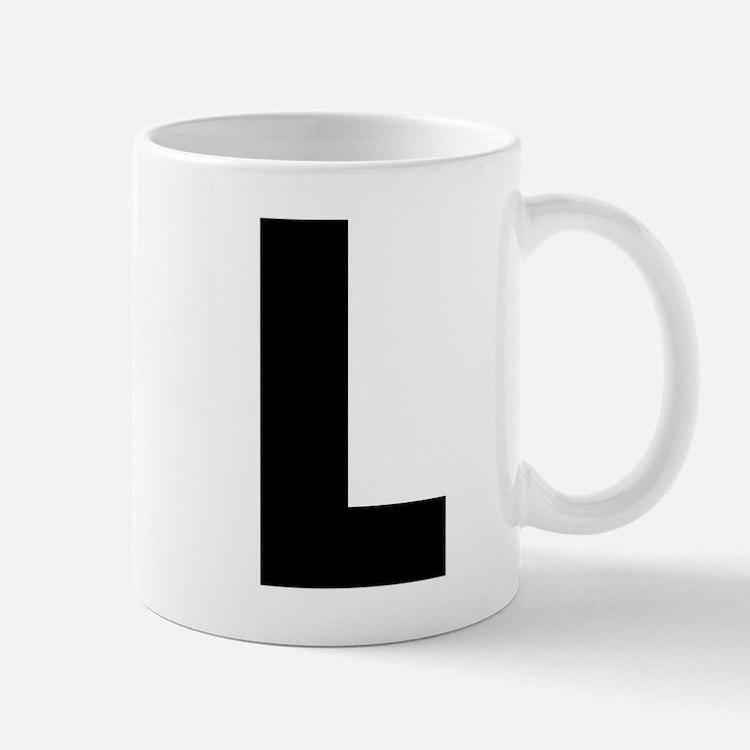 Letter L Small Small Mug