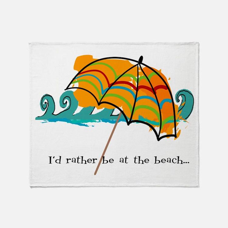 Cute Beach bums Throw Blanket