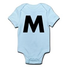 Letter M Infant Bodysuit
