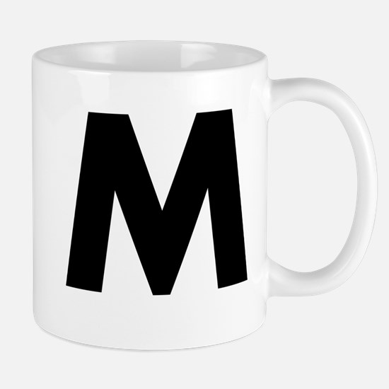 Letter M Coffee Mugs Letter M Travel Mugs Cafepress