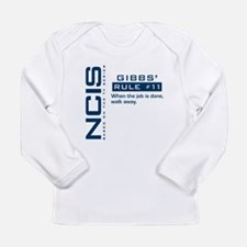 NCIS Gibbs' Rule #11 Long Sleeve Infant T-Shirt