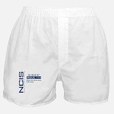 NCIS Gibbs' Rule #11 Boxer Shorts