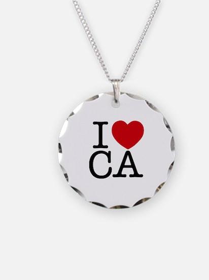 I Heart California Necklace