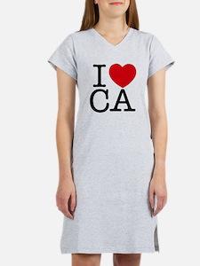 I Heart California Women's Nightshirt