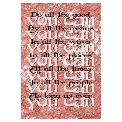 SERIES (John Wesley) Canvas Art