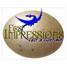 FIRST IMPRESSIONS Canvas Art