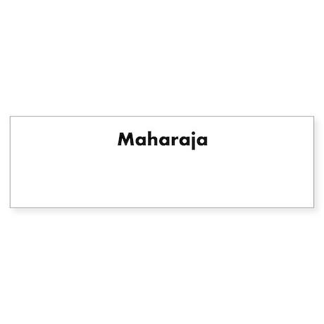 Makhan's Sticker (Bumper)