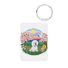 Blossoms-Bichon #1 Keychains