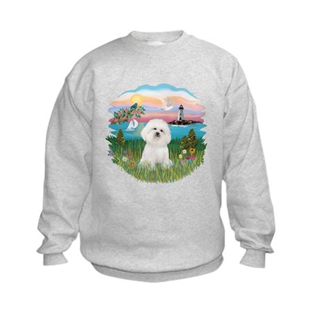 Lighthouse - Bichon#1 Kids Sweatshirt