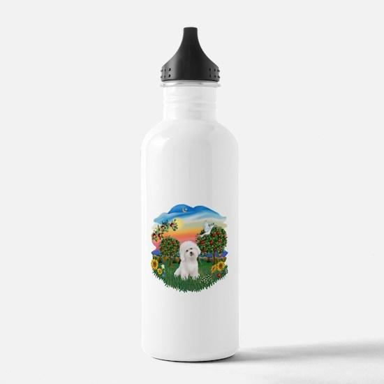 BrightCountry-Bichon#1 Water Bottle