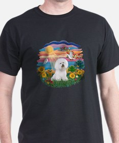 Autumn Sun-Bichon1 T-Shirt