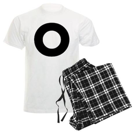 Letter O Men's Light Pajamas