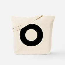 Letter O Tote Bag