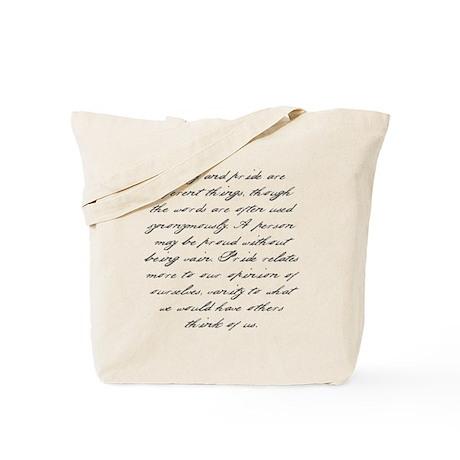 Pride and Prejudice - Vanity Tote Bag