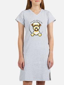 Funny Wheaten Terrier Women's Nightshirt
