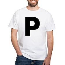 Letter P Shirt