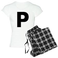 Letter P Pajamas